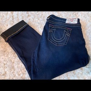 True Religion Crop Jeans